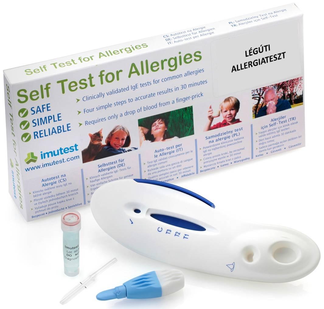 légúti allergiateszt